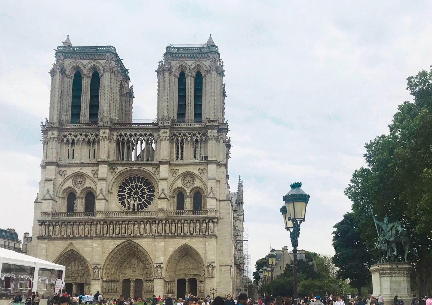Notre Dame in Day Trip to Paris on a Budget on francescasophia.co.uk