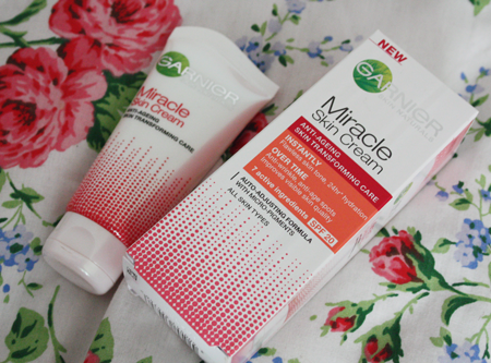 garnier miracle skin cream review on francescasophia.co.uk