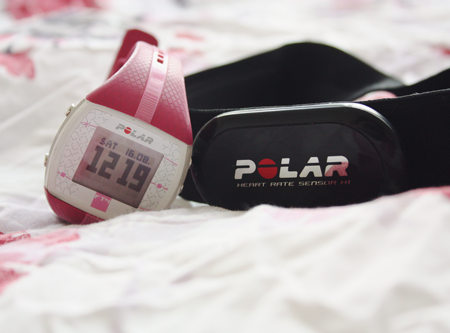 Polar Fitness FT4 Heart Rate Monitor review on francescasophia.co.uk