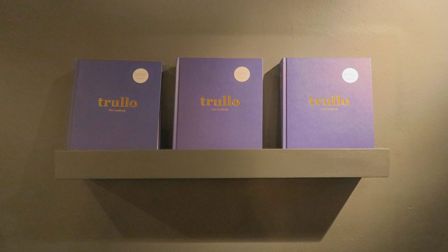 Trullo restaurant cookbooks on francescasophia.co.uk