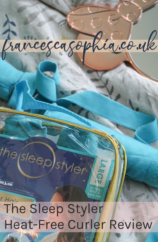 The Sleep Styler review on francescasophia.co.ukk